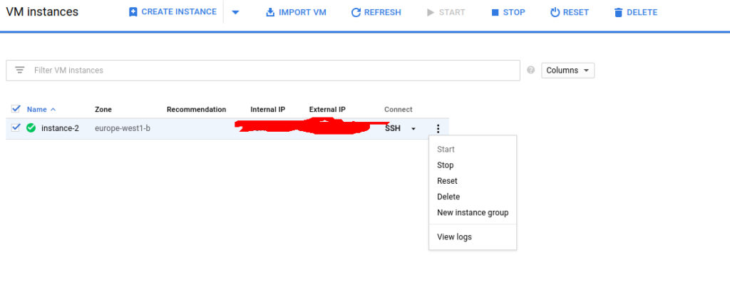 Running Jupyter Notebook on Google Cloud for a Kaggle