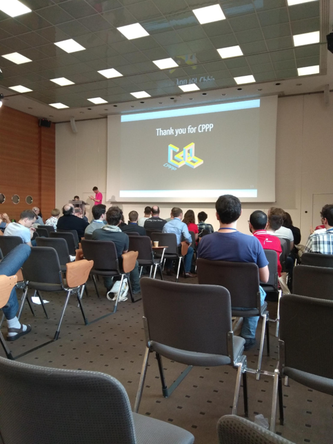 CPPP C++ conference 2019